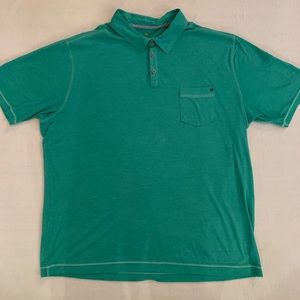 Tommy Bahama Extra Large Green Polo